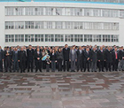 Konya Şeker'de düzenlenen törene Konya Şeker çalışanları katıldı