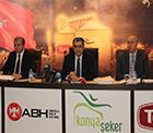 Pankobirlik Genel Başkanı Recep Konuk, Konya Şeker'in enerji sektöründeki yol haritasını anlattı