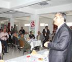 Pankobirlik Genel Başkanı Recep Konuk, Altınekin'de Seydişehirlilerle buluştu.