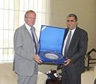 Almanya Büyükelçisi Dr. Eberhard Pohl, Konya Şeker'in işbirliği yapılacak güvenilir firma olduğunu söyledi.