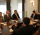 Pankobirlik Genel Başkanı Recep Konuk Üniversite Mütevelli Heyetiyle Dışişleri Bakanını Ziyaret Etti