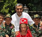 Konya Pancar Ekicileri Kooperatifi Yönetim Kurulu Başkanı Recep Konuk, 23 Nisan Ulusal Egemenlik ve Çocuk Bayramı'nı kutladı
