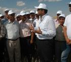 Konya tarımın lokomotifi olacak.