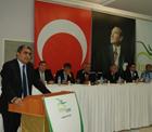 Konya Şeker'in 58.Olağan Mali Genel Kurulu'nda, Pankobirlik Genel Başkanı Recep Konuk; konuşma yaptı