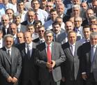 """Pankobirlik Genel Başkanı Recep Konuk """"Konya Şeker Ailesiyle Bayramlaştı""""."""