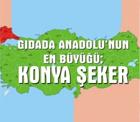 Konya Şeker, Anadolu'nun en büyüğü.