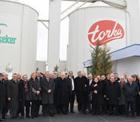 İstanbul Sanayi Odası(İSO) Meclis üyeleri ve yöneticileri Türkiye'nin 34. Büyük sanayi devi Konya Şeker'i gezdiler.
